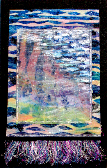fabric and thread water picture